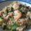 """Un piatto unico """"comodo""""! Farro, gamberetti e zucchine"""